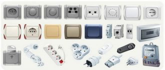 Электромонтажное оборудование: выбор счетчиков, коробок, розеток и выключателей