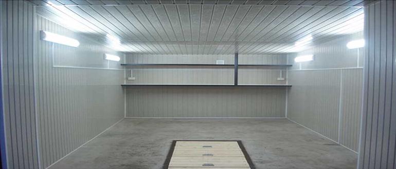 Правильная организация освещения гаража