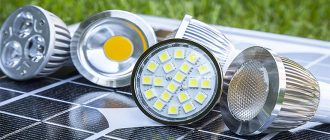 Расширение применения светодиодных приборов освещения